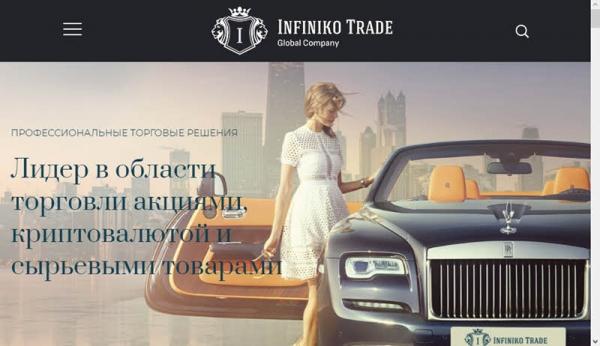 Infiniko Trade – развод или нет? Отзывы о брокере
